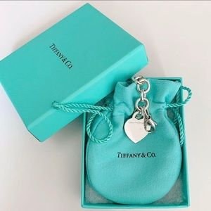 Tiffany & Co. Heart Tag Sterling Silver Bracelet
